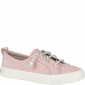 NEW Sperry Sneaker Rose Leather Sz 8